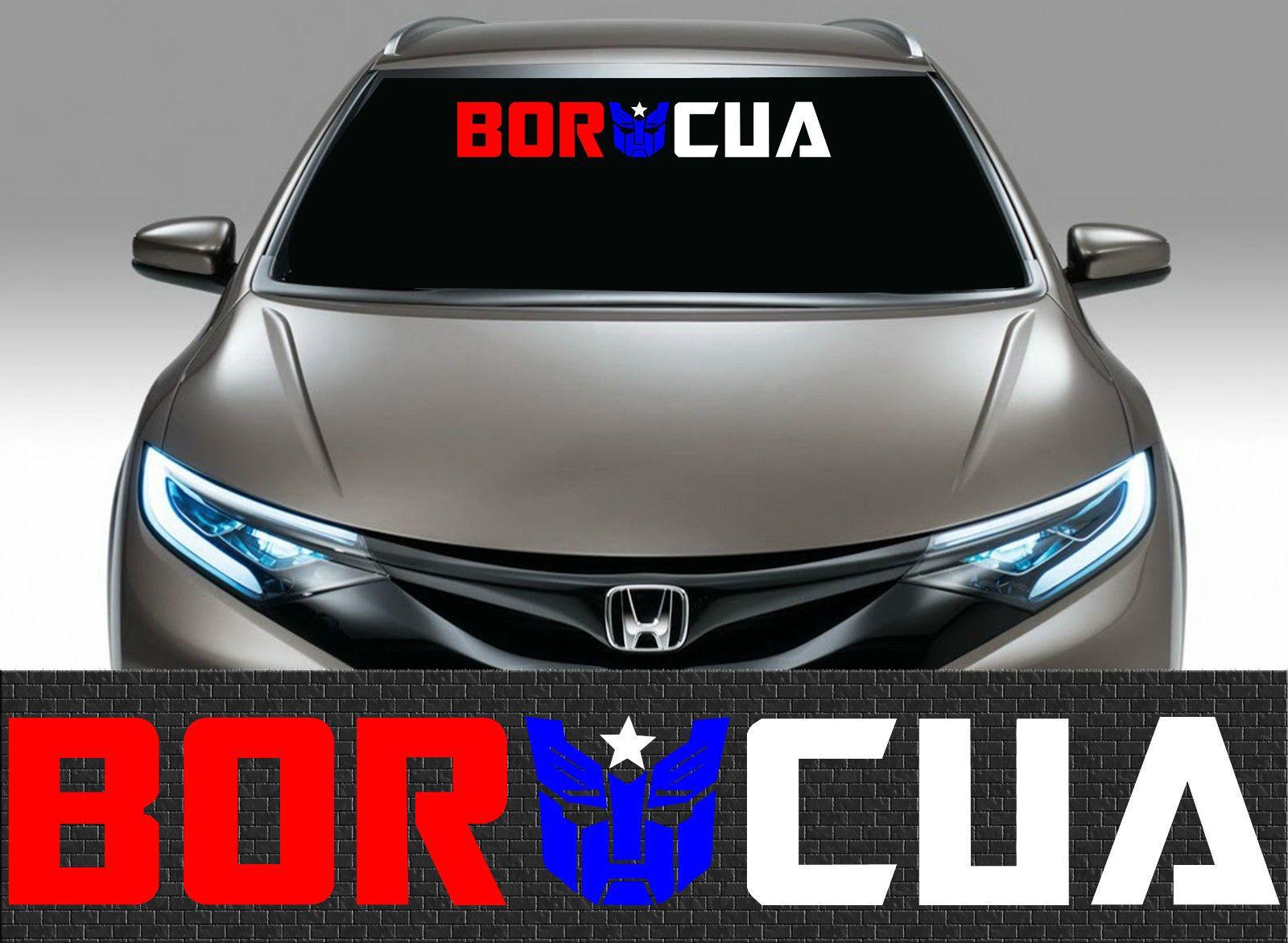 1 puerto rico puerto rican flag car decal vinyl stickers boricua 1691 ebay