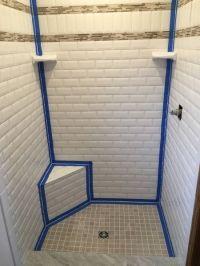 Avoid Cracked Grout: Caulk Tile Shower Corners | Grout ...