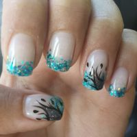 Fancy gel nails :) | Nails | Pinterest | See best ideas ...