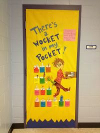 There's a Wocket in my Pocket. Our Dr. Seuss door. My ...