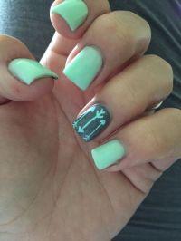 23 Easy Summer Nail Art for Short Nails   Summer nail art ...