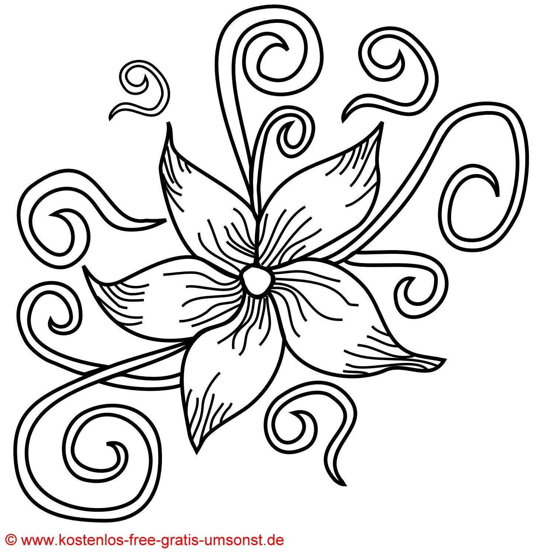 Flower tattoo kostenlose blumen bl 252 ten tattoo vorlage