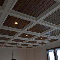 craftsman style vaulted ceiling drop soffit trim - Google ...