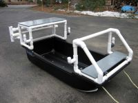 pvc pipe boat | ... Show us your PVC, Build, add-on, rod ...