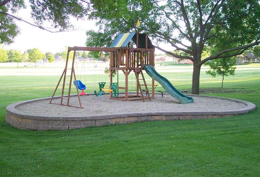 backyard playground ideas Service Details MLS Landscaping - home playground ideas