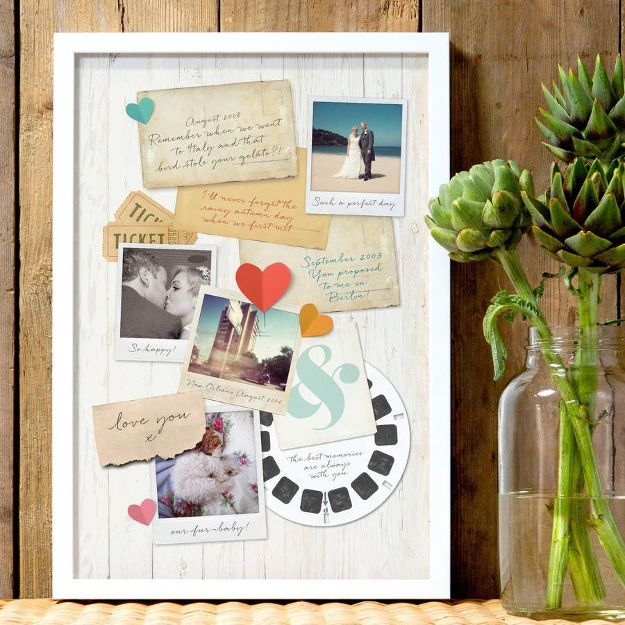 first wedding anniversary gift First Wedding Anniversary Gift Guide Paper Gift Ideas