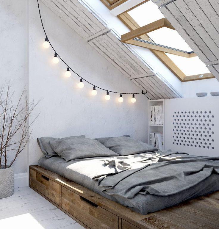 Skandinavische Schlafzimmer Ideen Small living, Interiors and Haus - ideen schlafzimmer