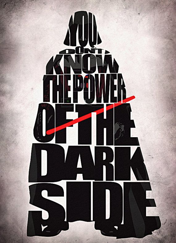Firefly Iphone Wallpaper Quote Star Wars Darth Vader Print Darth Vader From Star Wars