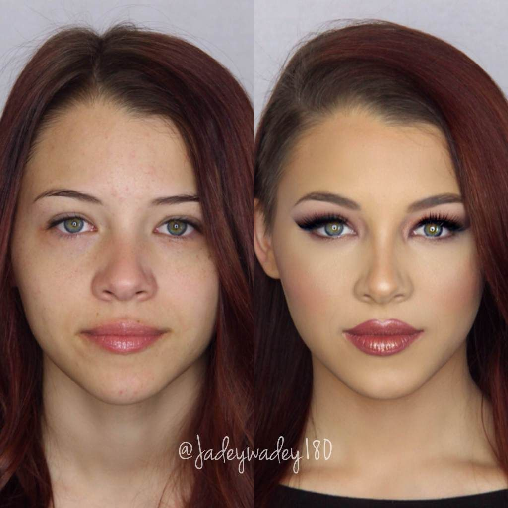 Contouring Rundes Gesicht What A Difference Make Up Can Make Although The Girl Is