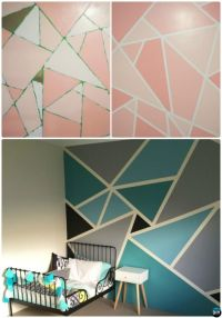 12 DIY Patterned Wall Painting Ideas and Techniques | Wall ...