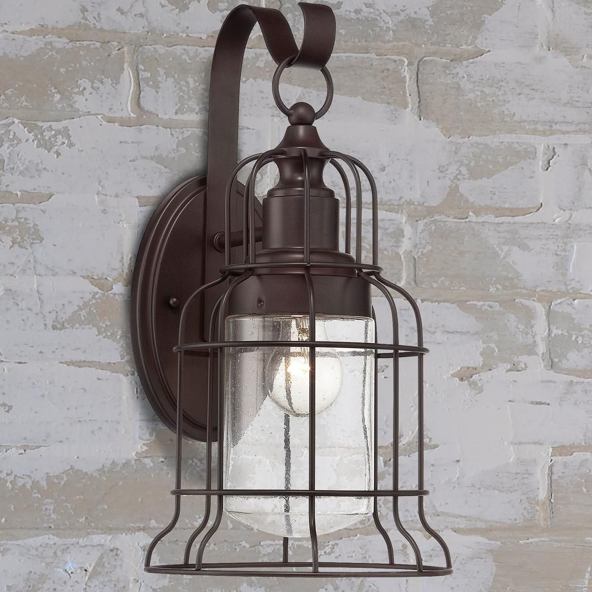 Farmhouse Wall Sconce Industrial Oceanside Wall Sconce - Large | Farmhouse Style