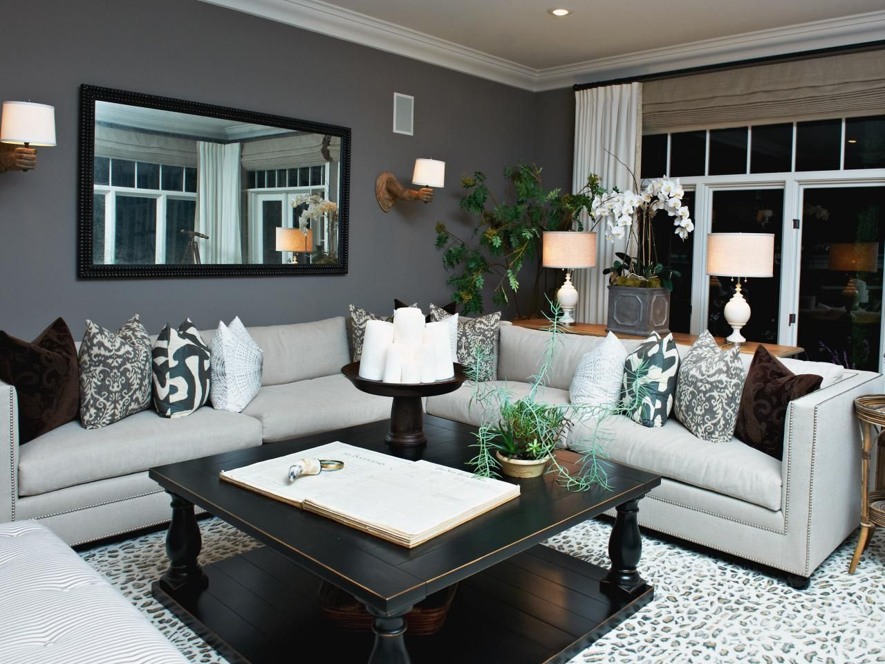 Top 50 pinterest gallery 2014 gray living