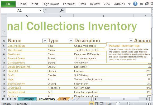 inventory list template 4 Journal - Planners Pinterest - inventory list template