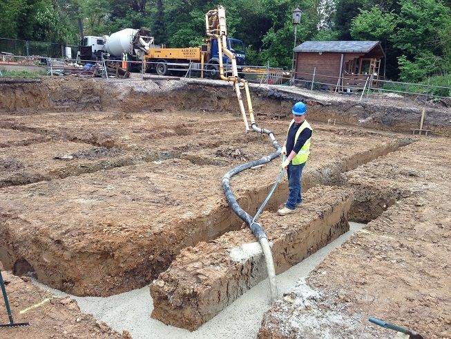 Self Build House Foundations | Hood | Pinterest | Foundation