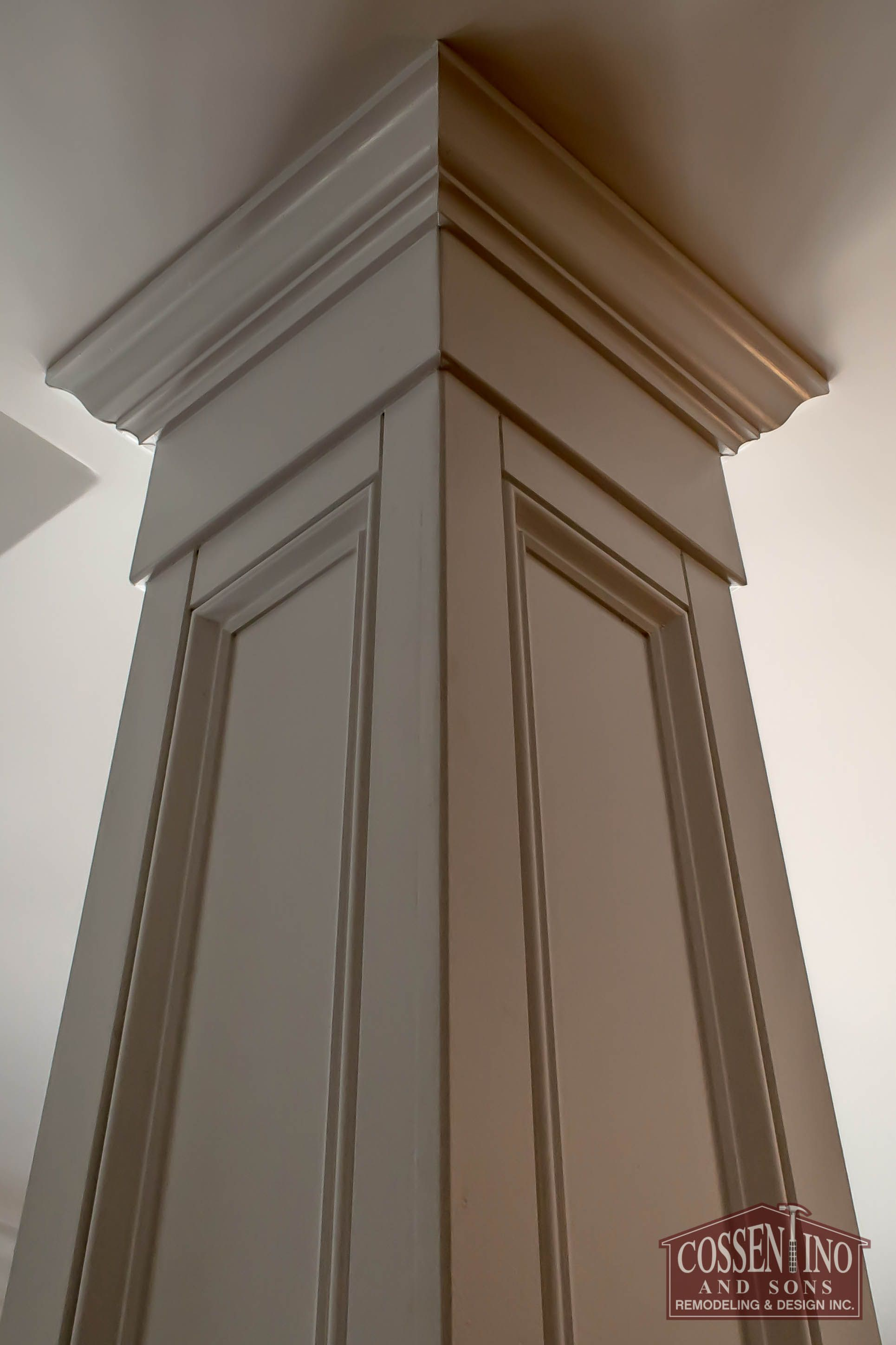 Pillar Designs Pictures Custom Trimmed Column Hiding An Ugly Support Beam