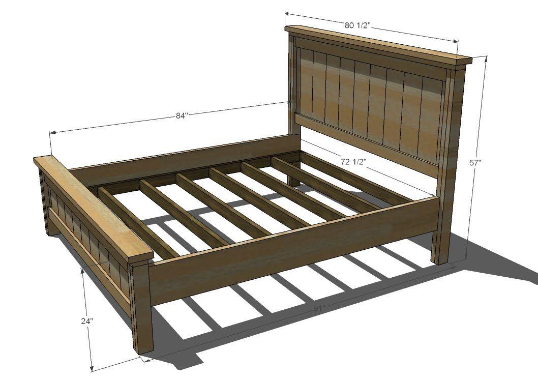80 diy king size platform bed frame my diy projects pinterest king size platform bed platform bed frame and bed frames