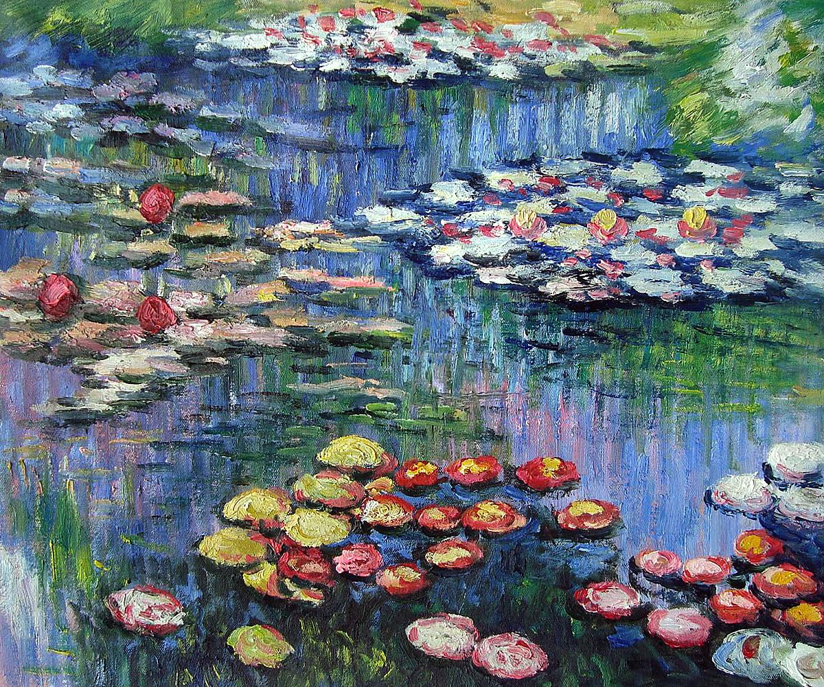 Cuadros De Nenufares Monet Water Lilies Pink One Of Overstockart 39s Most