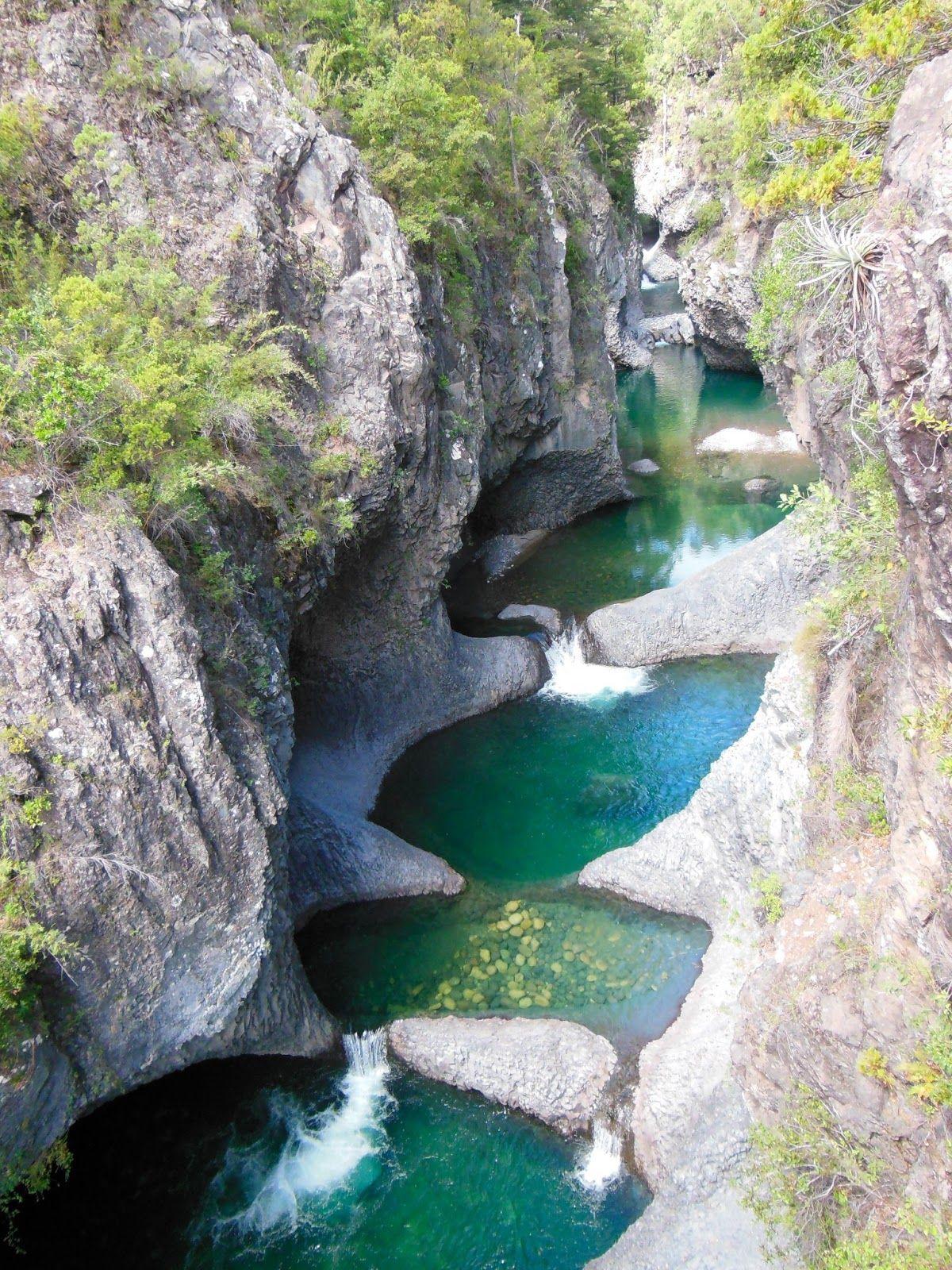 Beautiful Niagara Falls Wallpaper National Park Radal Quot Las Siete Tazas Quot Chile Via