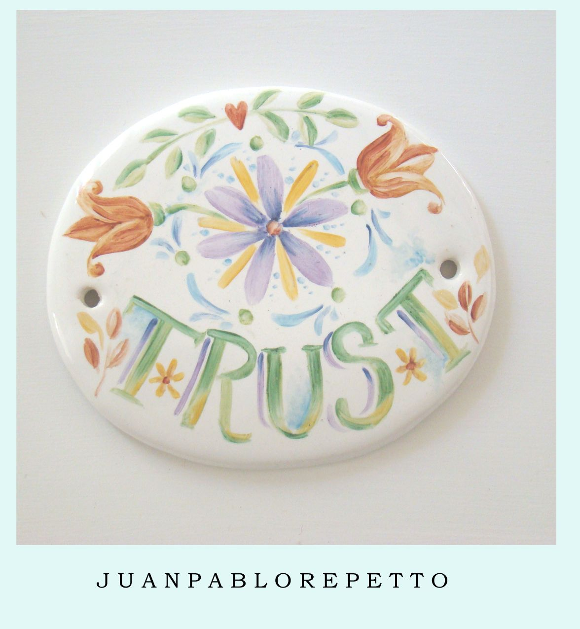 Pinturas Hippies Trust Color Pintura En Porcelana Deco Hippie Pintar