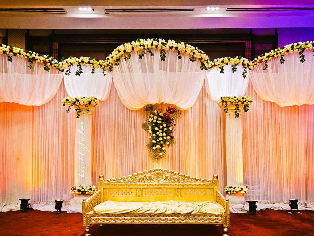 Stage Decoration Ideas Design Cheap Wedding Decorations Indian Wedding Decorations