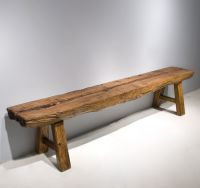 rustic benches | Rustic Light Bench | rustic furniture ...