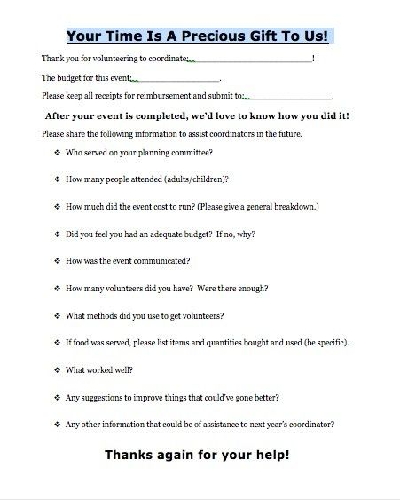 pinterest event evaluation form - Google Search Crafts - event feedback form in pdf