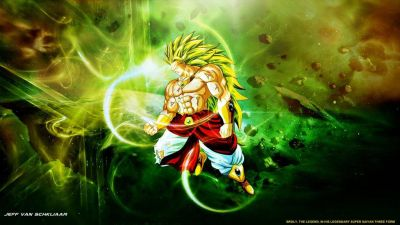 Broly Legendary Super Saiyan 3 Wallpaper by jeffery10 | Dragon Ball | Pinterest | Wallpapers ...