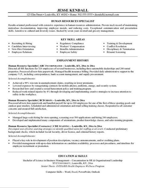 Human Services Resume Objective Samples Resume Objective Samples - human service resume
