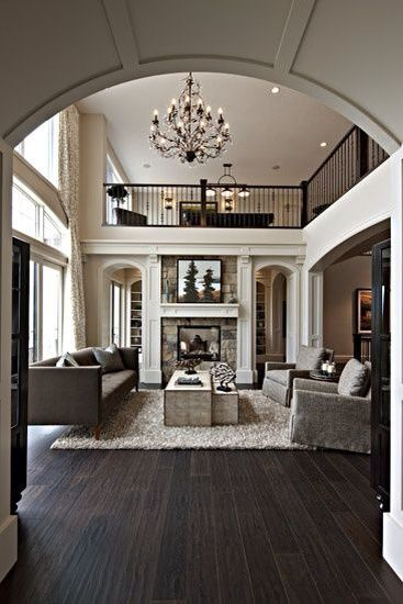 Top 10 Favorite Grey Living Room Ideas British columbia - living room with wood floors