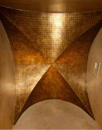 Groin Ceiling with tile