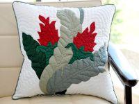 modern hawaiian quilted pillow   hawaiian quilts ...