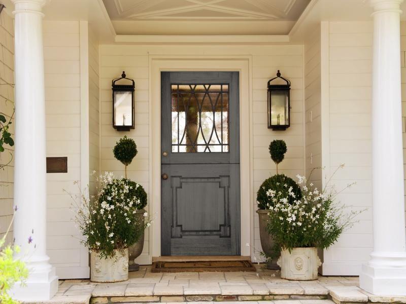 Cool Painted Front Doors | Popular Front Door Colors Written Piece