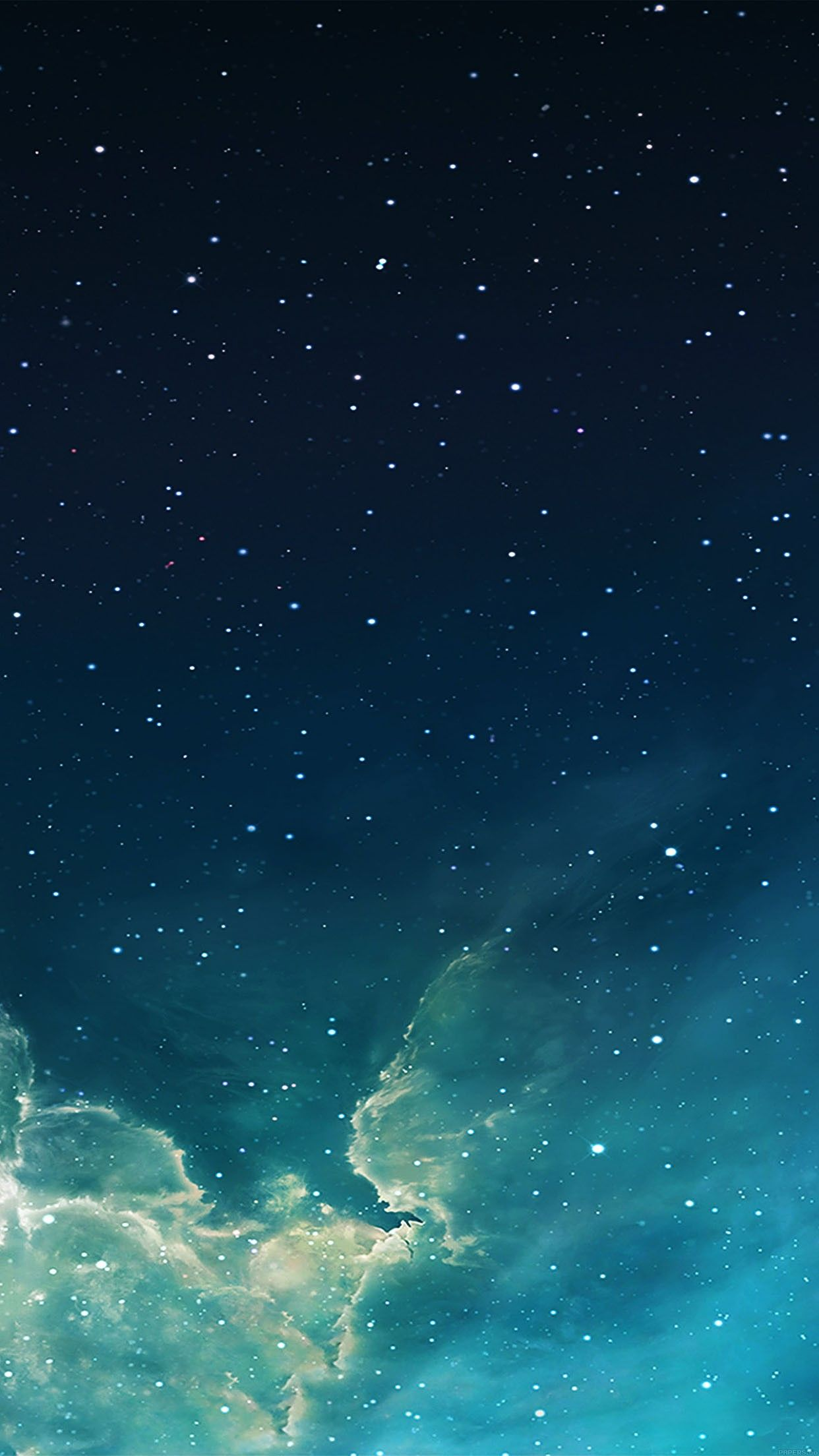 Wallpaper galaxy blue 7 starry star sky iphone 6 plus wallpapers daily best