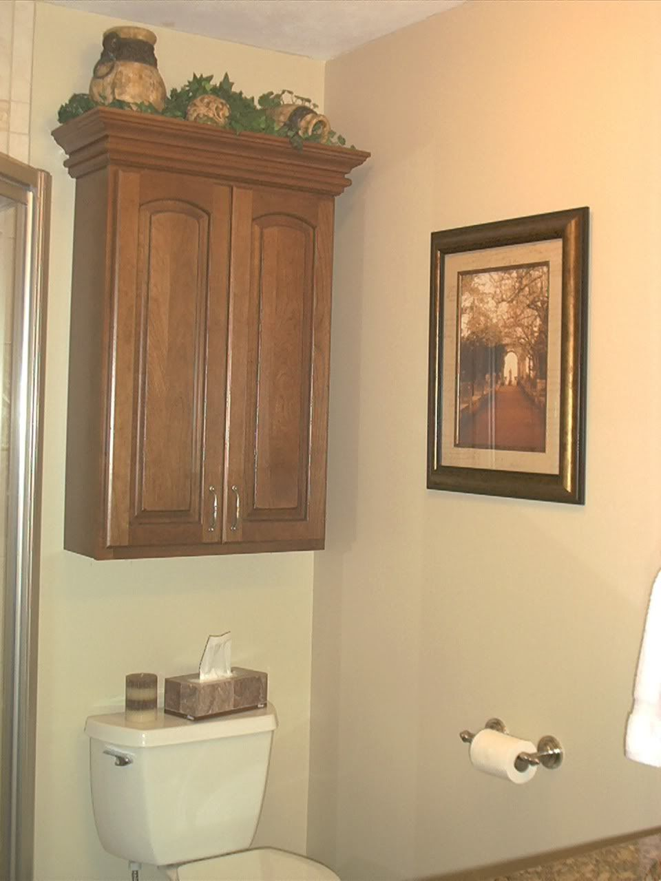 Bathroom storage cabinets over toilet wall cabinet above toilet in water closet toilet room