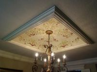 Faux Tray Ceiling Designs | Dining Room Tray Ceiling AFTER ...