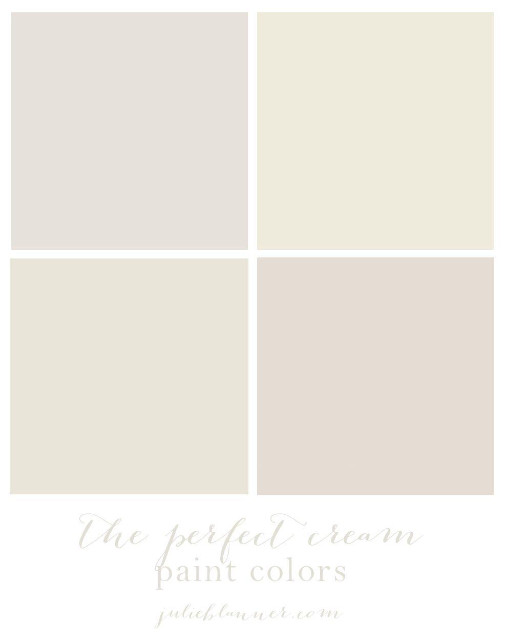 Cream Paint Colors on Pinterest