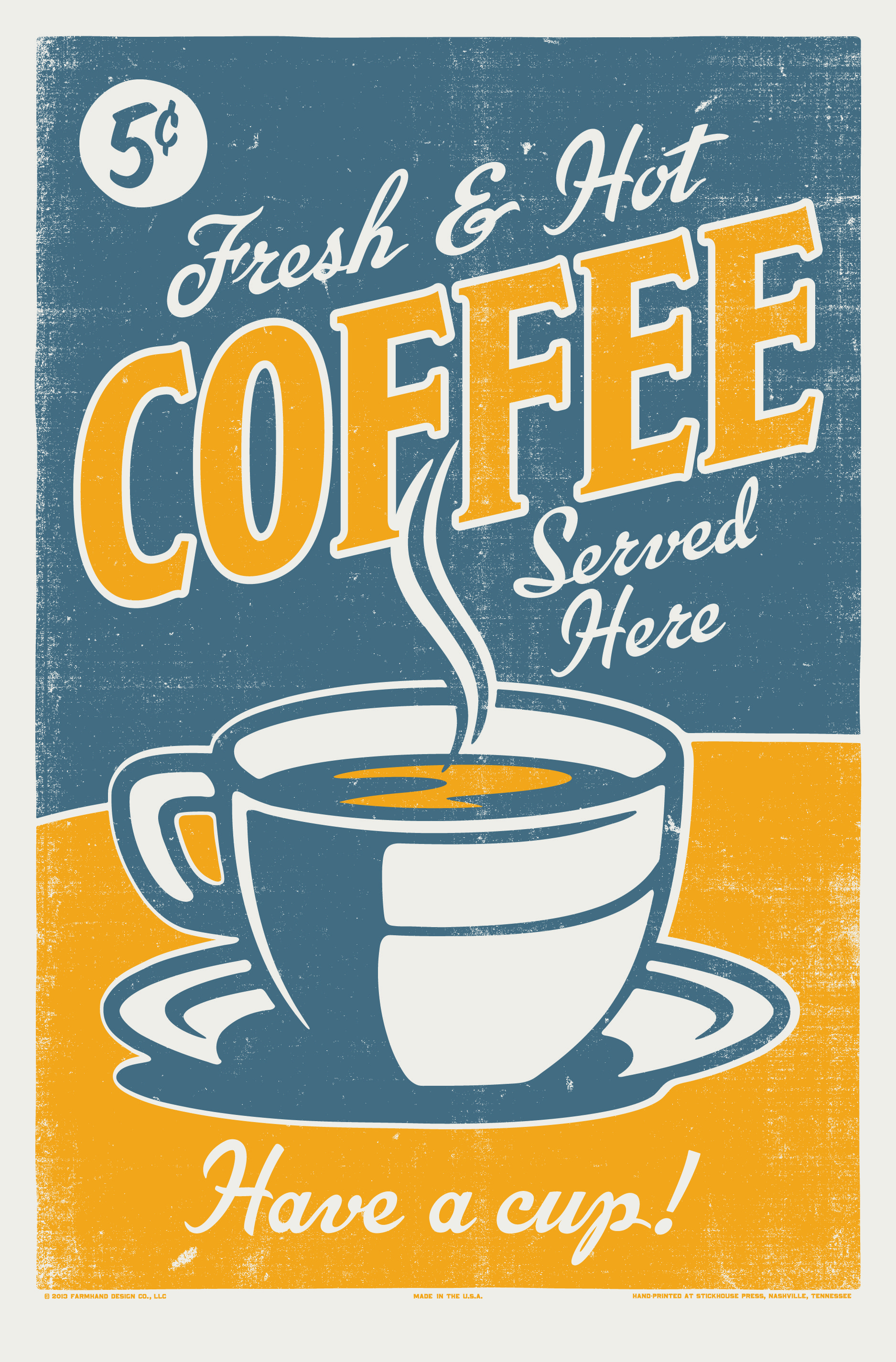 Kaffee Poster A Vintage Coffee Poster Posters In Progress Pinterest