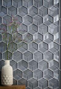 glass tile, tile, interior design, tozen tile,, feature