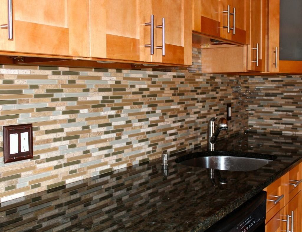 Granite Countertops New Orleans Kitchen Backsplash Tile Cherry Cabinets Cherry Wood