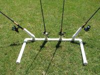DIY Bank Fishing Rod Holder - Texas Fishing Forum | For ...