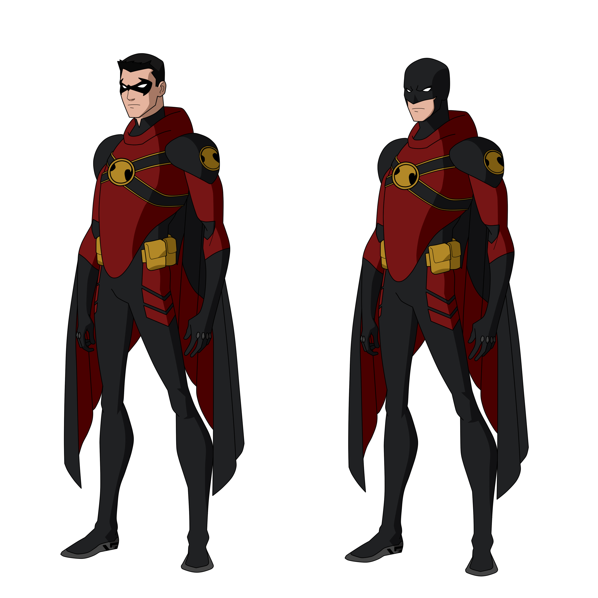 Robin Design Red Robin Titans Designs By Bobkitty23 On Deviantart