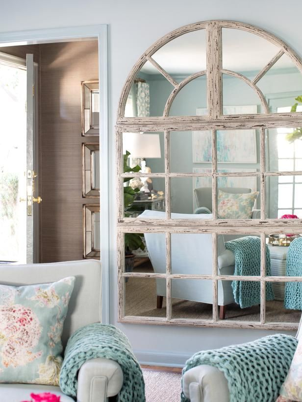 Small Living Room Ideas Small mirrors, Mirror tiles and Small - how to make a small living room look bigger