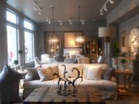 Restoration Hardware, living room