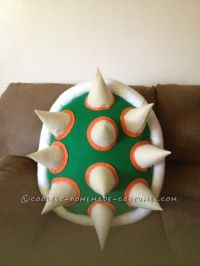 Cool DIY Bowser (King Koopa) Halloween Costume for a Boy ...