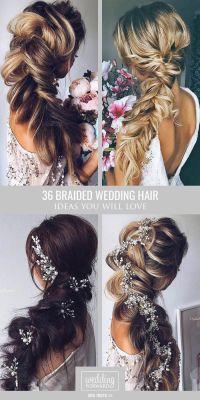 Long Braided Hair Wedding | www.pixshark.com - Images ...