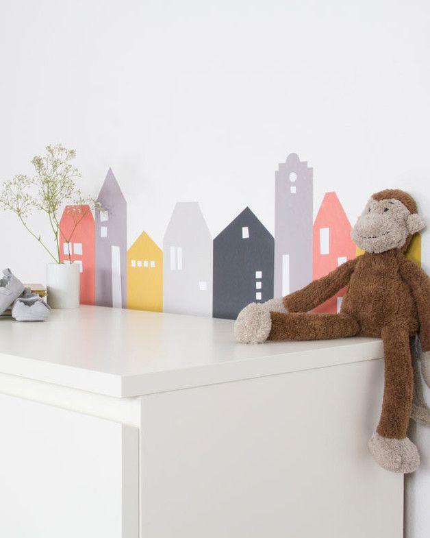 Kinder Kommode mit Stickern pimpen für IKEA MALM Kids rooms - wandsticker babyzimmer nice ideas