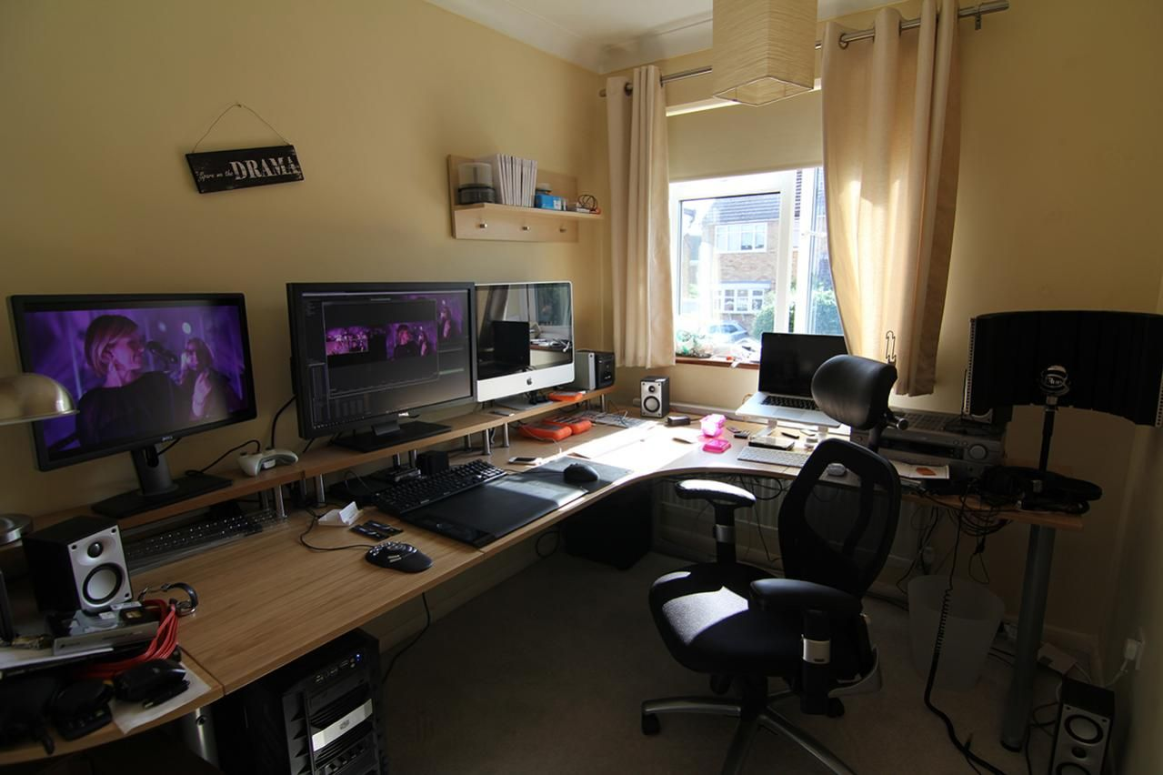 Home Office Desk Setup Office Workspace Home Gaming Desk Setup Ideas Ultimate