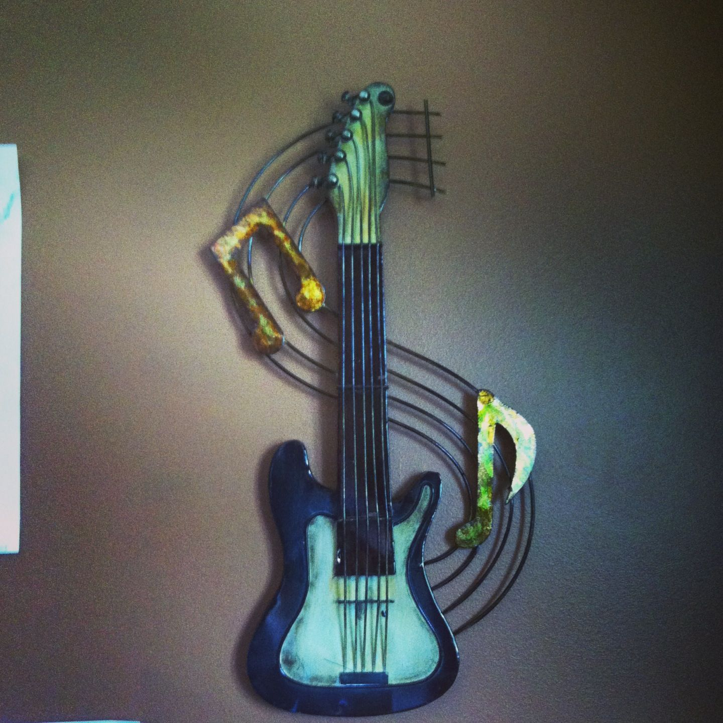 Guitar Decor For Bedroom Guitar Wall Hanging From Bed Bath And Beyond Music