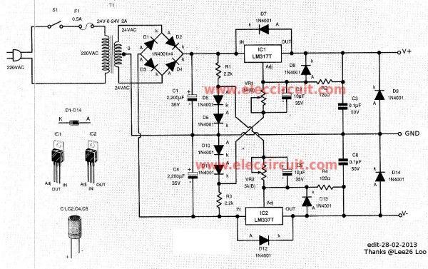 lab power supply diy electronics