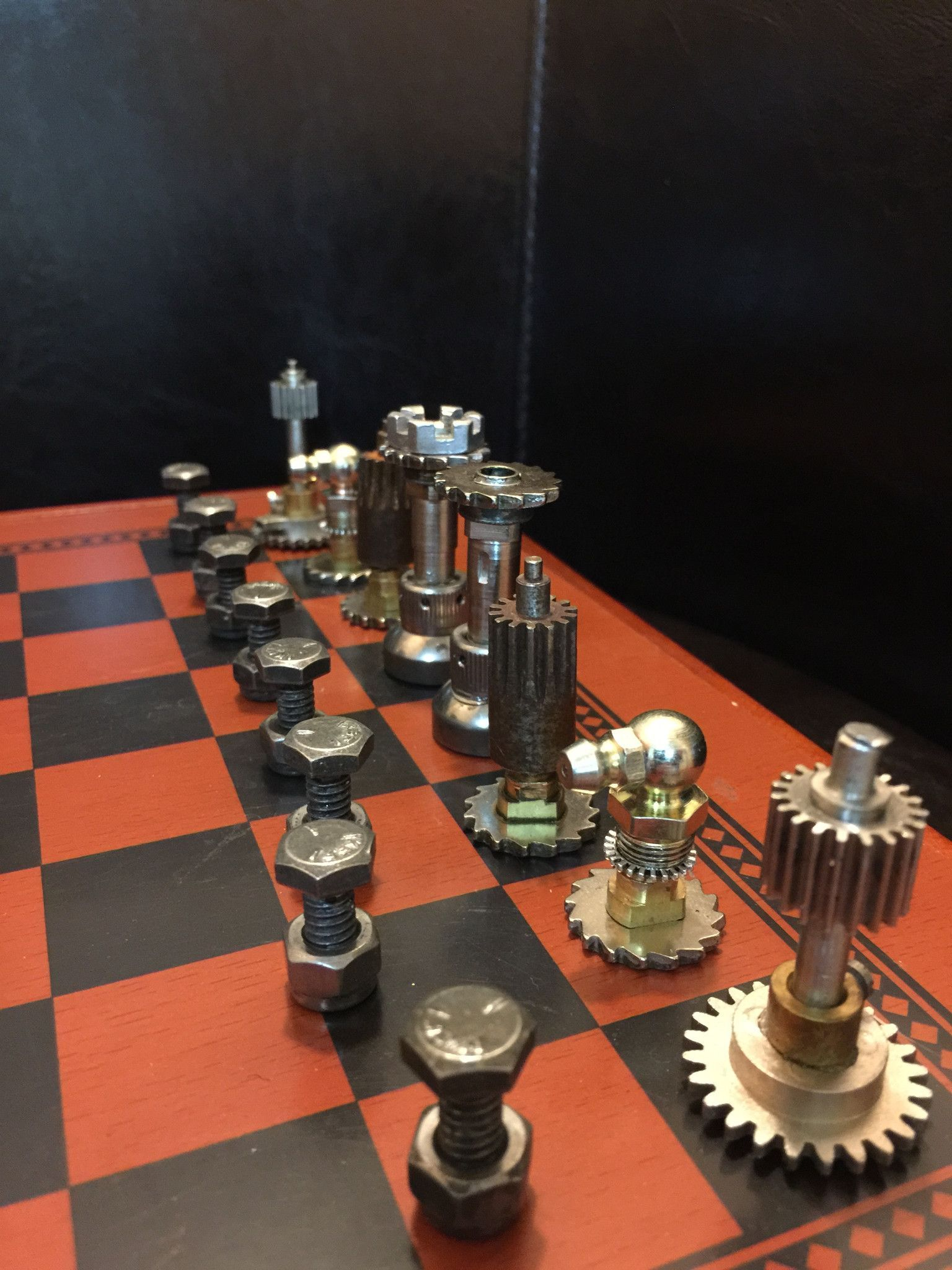 Chest Game Set Steampunk Chess Set Play Chess Sets Chess And Gaming
